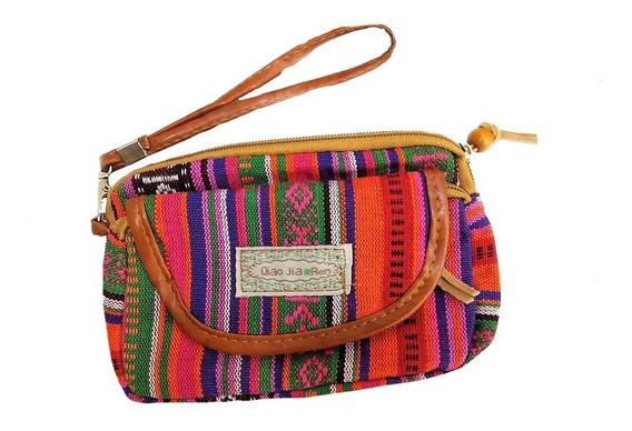 Kit 20 Mini Bolsas Em Tecido Colorida Estampada Porta Moedas