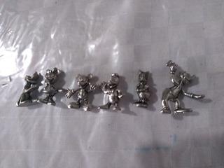 Mickey Mouse Y Sus Amigos Figuritas Metal Envio Gratis