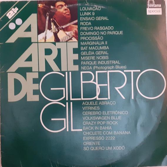 Lp A Arte De Gilberto Gil [duplo]