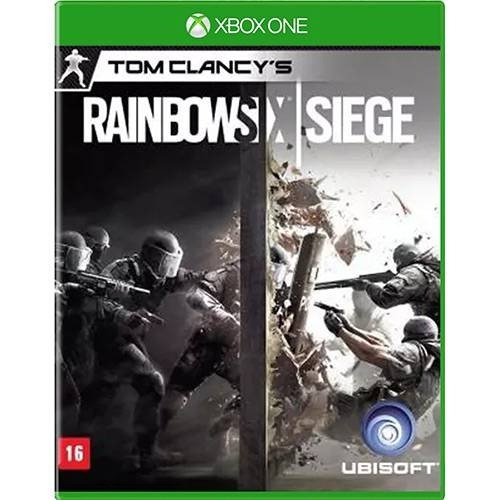 Xbox One Tom Clancys Rainbow Six: Siege Novo Lacrado