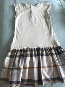 Vestido Burberry 3 Anos Original