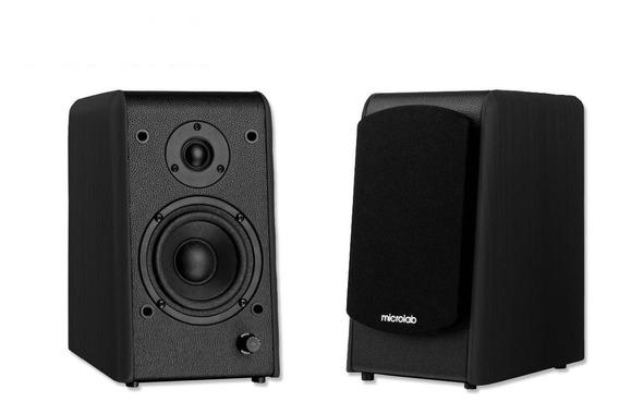 Monitor De Audio Microlab Ativos B77 2.0 64w Com Bluetooth