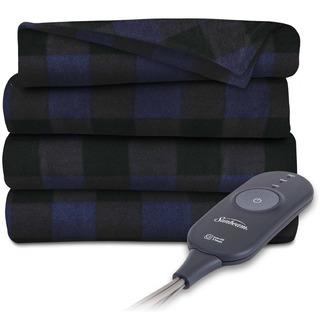 Cobija Eléctrica Sunbeam Electric Heated Fleece Throw, 50