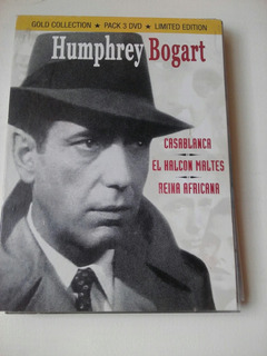 Dvds Humphrey Bogart Coleccion Casablanca El Halcon Maltes