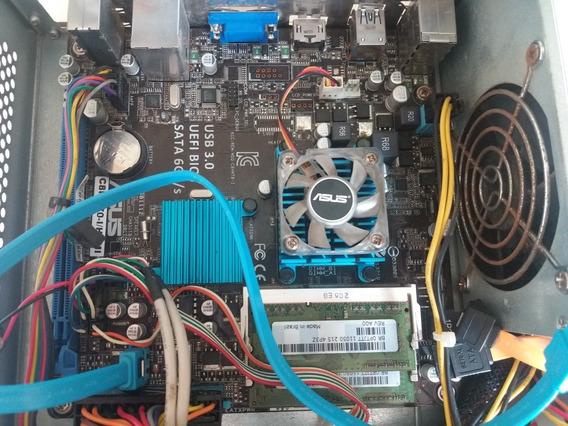 Computador Intel Celeron G 847/4gb/+bride /leia A Descrição!