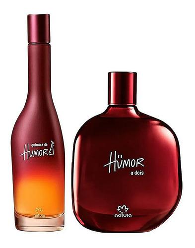 Perfumes Humor A Dois + Química De Hum - mL a $367