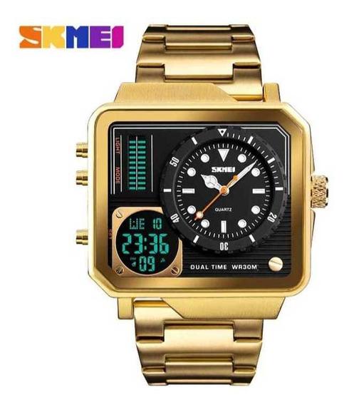 Relógio Masculino Skmei Original 12 X Sem Juros Liquidação