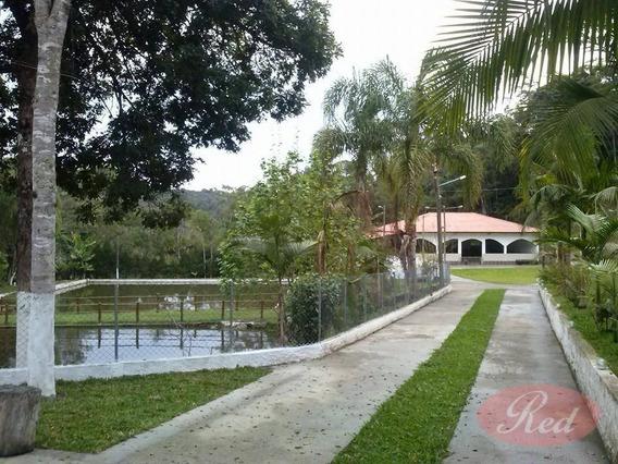 Chácara Com 4 Dormitórios À Venda, 18200 M² Por R$ 1.400.000,00 - Taiacupeba - Mogi Das Cruzes/sp - Ch0007