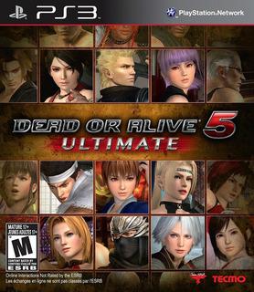Dead Or Alive 5 Ultimate Ps3 Nuevo Y Sellado