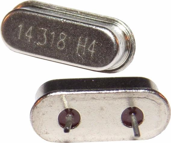 Cristal Oscilador 14.31818 Mhz Hc-49s Kit C/ 10 Pçs.
