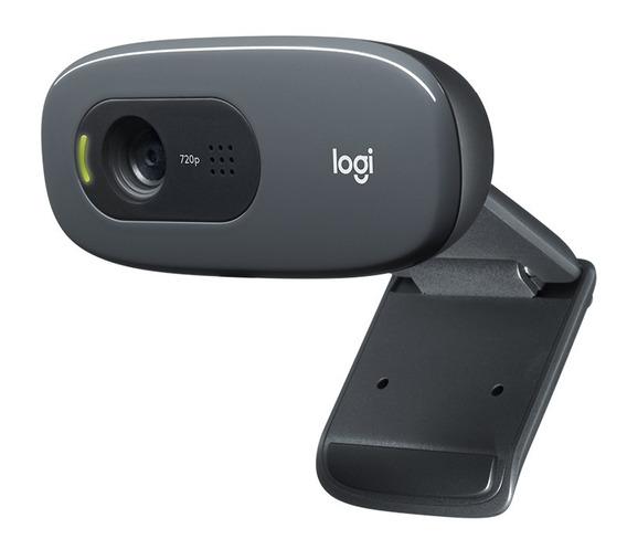 Webcam Logitech C270 Hd- Câmera Web - Usb