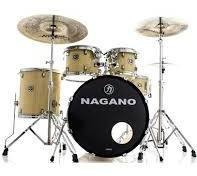 Bateria Nagano Garage Rock 22 Natural Clear