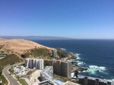 Costa De Montemar, Excelente Vista Al Mar Despejada Y Asegurada. Excelente Estado.