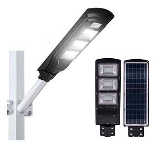 Lampara Solar Led 90w/patio Jardin Plazas Calles Exterior