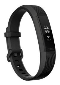 Pulseira Fitbit Alta Hr Gunmetal Fitness Wristband Grande !