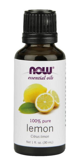 Now Aceite Esencial De Limón, 30 Ml - Barulu