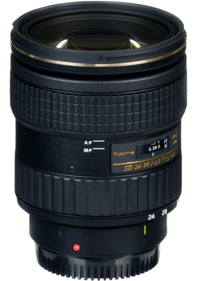 Lente Tokina At-x 24-70 F/2.8 Pro Fx Para Nikon F
