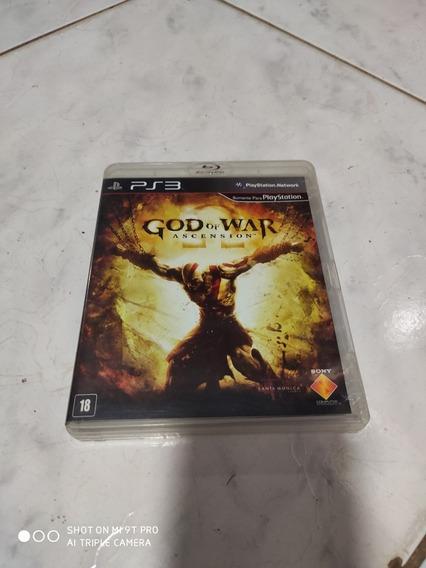 Mídia Física God Of War Ascension Ps3