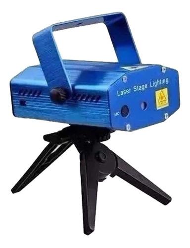 Imagem 1 de 9 de Mini Projetor Laser Holográfico Festa Luatek Lk173 Dj Balada