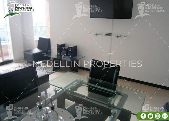 Arrendamientos De Apartamentos Baratos En Medellín Cód: 4550