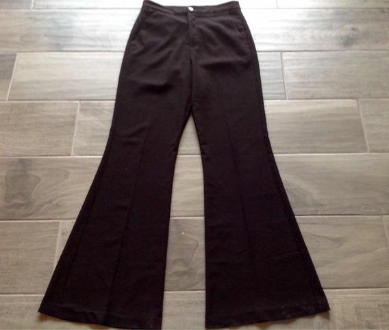Pantalon Dama De Vestir Oficina Trabajo Formal Negro Talla M