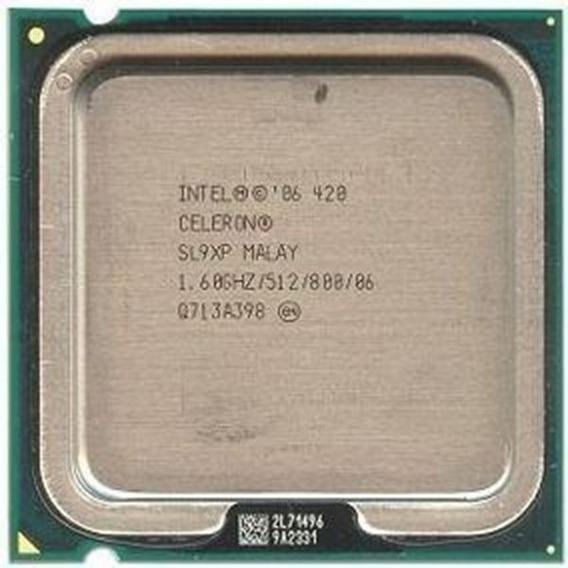 Processador Intel Celeron 420 1.6 Ghz Lga 775 Testado 100%