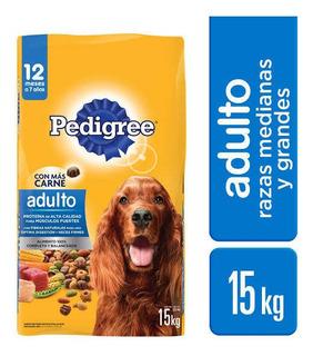 Alimento Pedigree Adulto 15 Kg Cad: 05/03/20