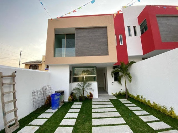 Moderna Casa A Estrenar Con Seguridad