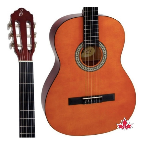 Violao Giannini Acustico Nylon N14 Natural + Bag