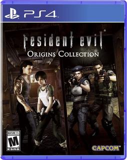 Resident Evil Origins Collection Ps4, Nuevo Y Sellado