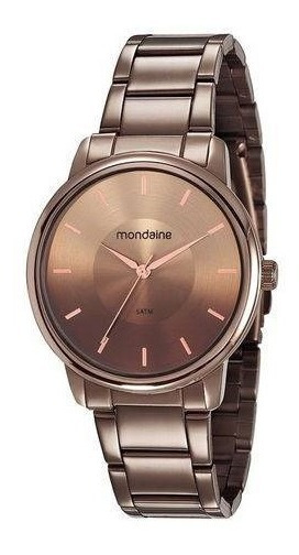 Relogio Mondaine Feminino 53606lpmvme7 Fashion Chocolate