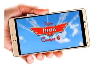 Aviones Vídeo Tarjeta Invitación Digital Cumpleaños Whapsapp