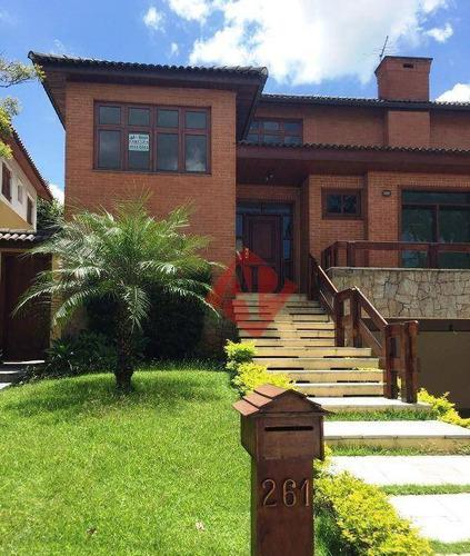 Casa Com 4 Dormitórios Para Alugar, 450 M² Por R$ 10.200,00/mês - Alphaville 10 - Santana De Parnaíba/sp - Ca1473