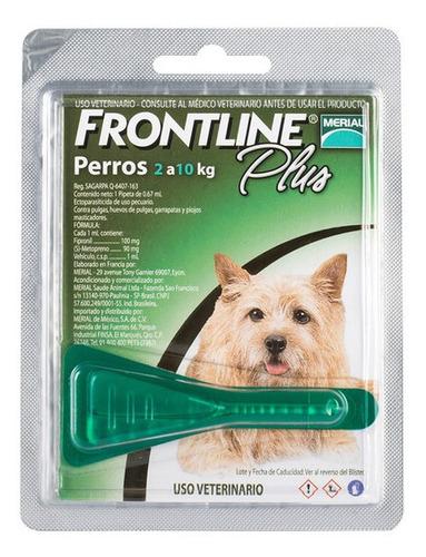 Frontline Plus Pipeta Perro Chico 2-10kg