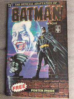 Hq Batman The Movie The Official Adaptation 1989 Dc Frete15