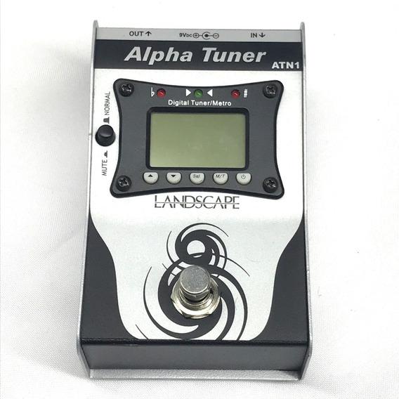 Pedal Afinador Landscape Atn1 Alpha Tuner - Fotos Reais