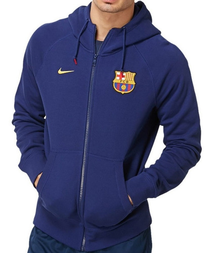 Sudadera Nike Fc Barcelona Authentic - Azul Marino