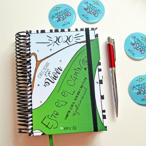 Agenda Personalizada -diseño Con Ilustraciones Exclusivas-