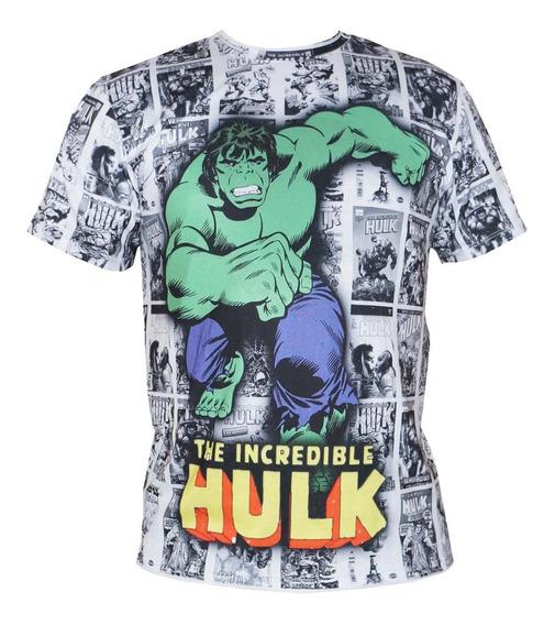 Camiseta Heróis Capitão América Homem De Ferro Thor Hulk +
