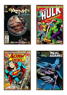 Chapas Retro Retro Comics Posters Antiguos - Vintage Deco