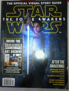 Star Wars The Force Awakens Oficial Revista(en Inglés)