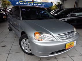 Delightful Honda Civic 1.7 Lx Aut. 4p 2001