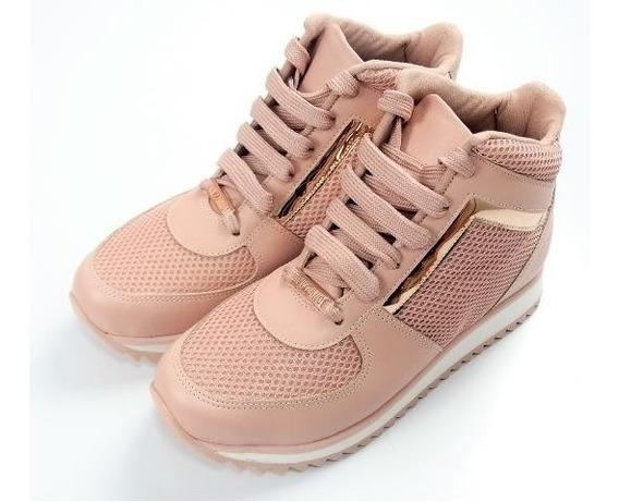 Tênis Bota Feminino Sneaker Casual Vizzano 1234.136 Rosa