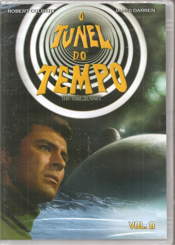 Dvd O Tunel Do Tempo Vol. 8 - Robert Colbert, James Darren