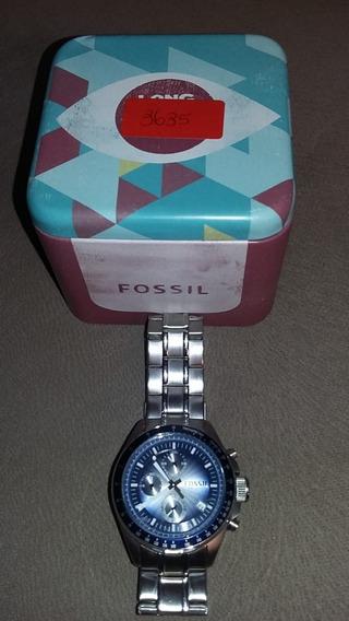 Relógio Fossil Ch2589 10 Atm Cronografo Importado