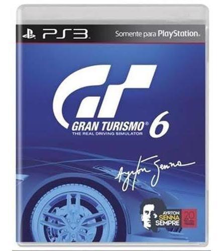 Gran Turismo 6 Ps3 Midia Fisica Pronta Entrega