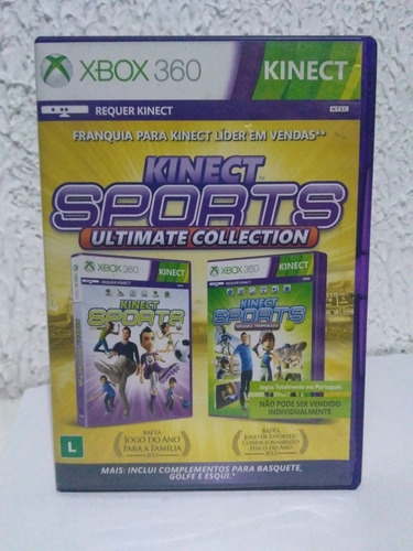 Jogo Kinect Sports Ultimate Collection Xbox 360 R$89,90