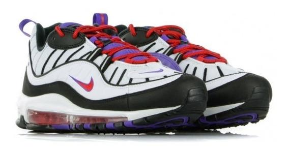 Nike Airmax 98 White/black Psychic Purple Msi