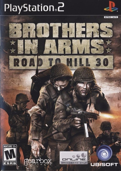 Jogo Brothers In Arms: Road To Hill 30 Ps2
