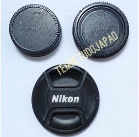 Kit 3 Tampa Nikon D7500 Lente 18-135 18-105 18-140 67mm Ø67